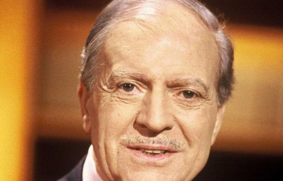 Maurice Herzog, en mars 1998. – SUREAU/TF1/SIPA