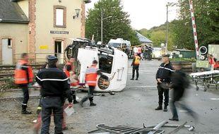 La collision entre le TER et la camion avait eu lieu le 12 octobre 2011, à 17h17.