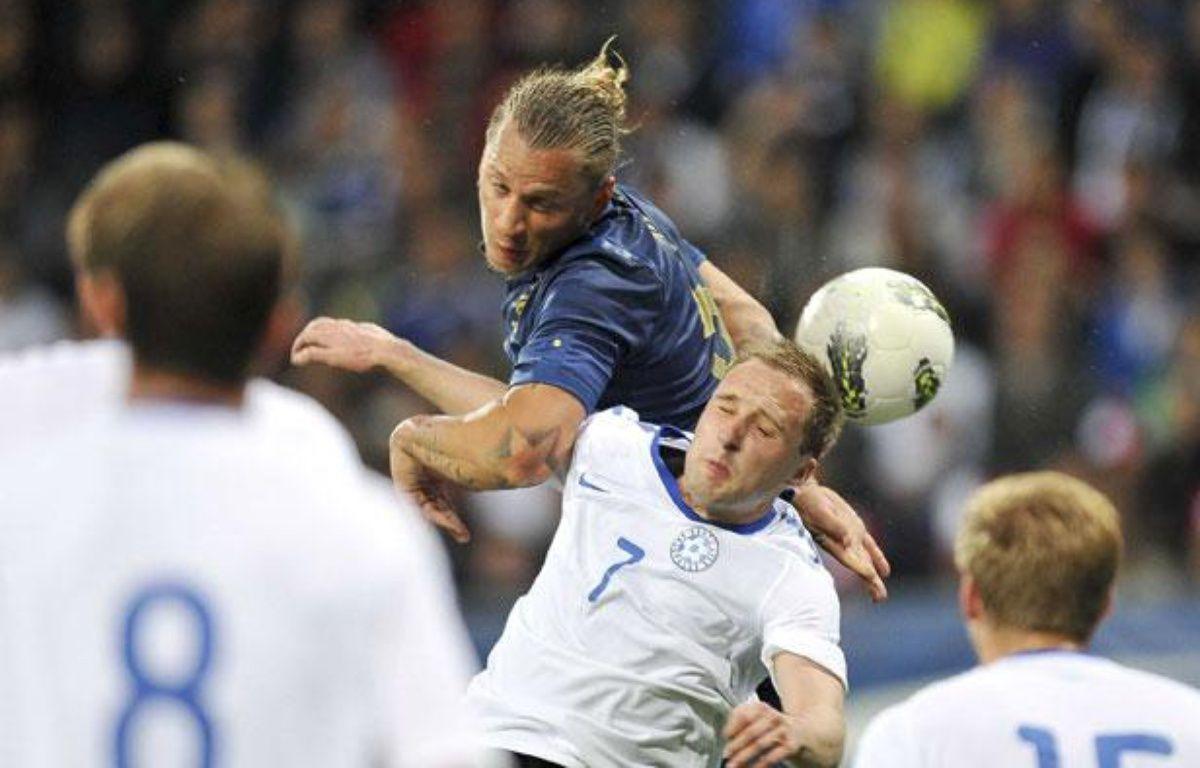 Philippe Mexès pendant le match amical face à l'Estonie, à la MM Arena du Mans, le 5 juin 2012. – DANOUN PAUL/SIPA