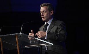 L'ancien président Nicolas Sarkozy, le 6 octobre 2010 à Paris.
