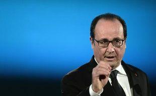 François Hollande, le 29 octobre 2015, à Nancy