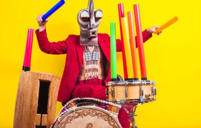 Le Dj et percussionniste Papatef