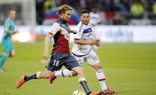 Le Tchèque des Girondins de Bordeaux, Jaroslav Plasil, lors d'un match à Lyon, le 16 mai 2015.