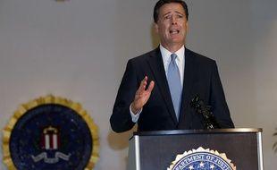 Le direceur du FBI James B. Comey