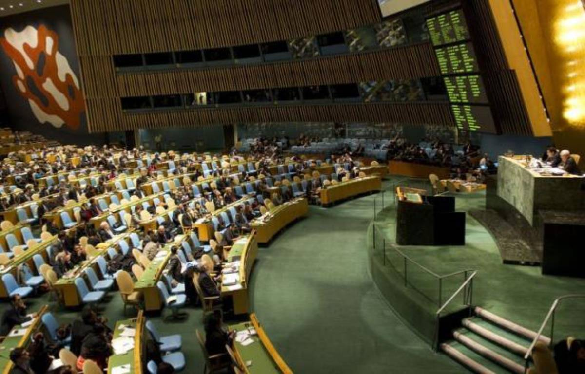 L'Assemblée générale de l'ONU a adopté jeudi à une large majorité, malgré l'opposition de la Chine et de la Russie, une résolution condamnant la répression en Syrie, quelques jours après le blocage par Moscou et Pékin d'un texte similaire au Conseil de sécurité. – Don Emmert afp.com