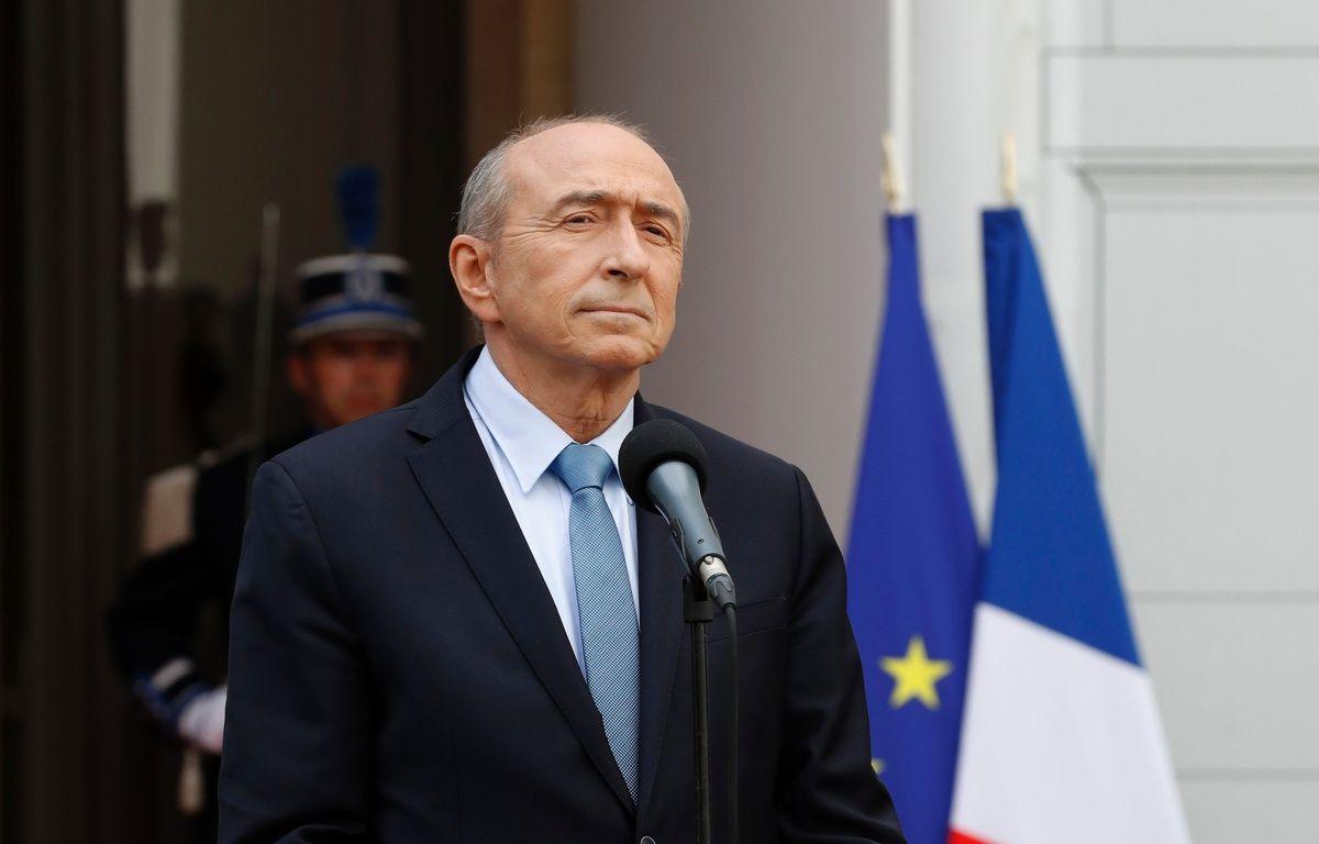 Gérard Collomb, ministre de l'Intérieur. – AFP