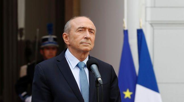 Gérard Collomb, le 17 mai 2017. – AFP