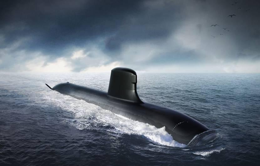 Le premier sous-marin nucléaire Barracuda lancé le 12 juillet à Cherbourg