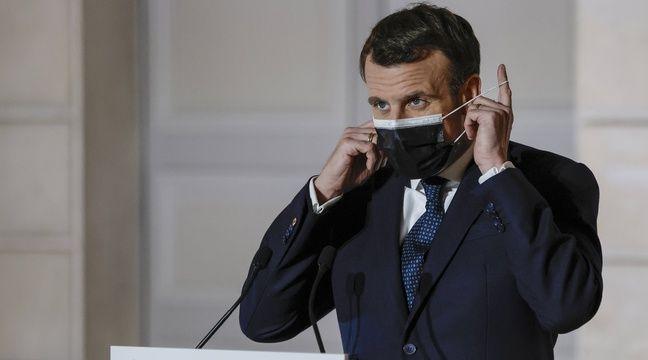 Emmanuel Macron évoque la mise en place d'un « pass sanitaire »