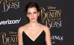 Emma Watson à l'avant-première de La Belle et la Bête
