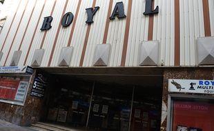 Le Royal, fermé, à Montpellier.