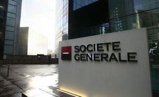 Le siège de la Société générale dans le quartier de la Défense à Puteaux.