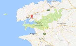 Plougastel-Daoulas (Finistère).