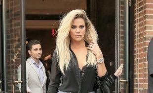La star de la télé-réalité Khloé Kardashian dans les rues de New York