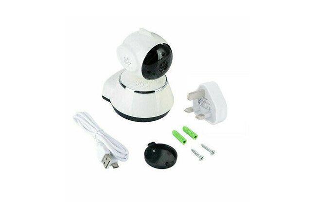Caméra de surveillance 1080p HD Wi-Fi
