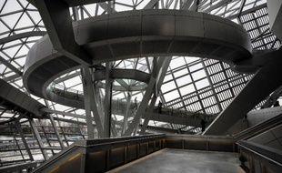 Le musée des Confluences à Lyon le 20 décembre 2014