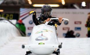 Jazmine Fenlator et Carrie Russell au départ de l'étape de coupe du monde d'Innsbruck