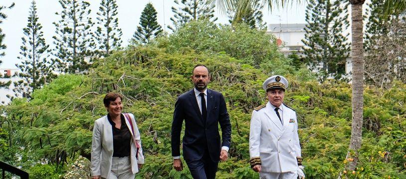 Le Premier ministre Edouard Philippe est arrivé à Noumea, en Nouvelle-Calédonie le 5 novembre 2018.