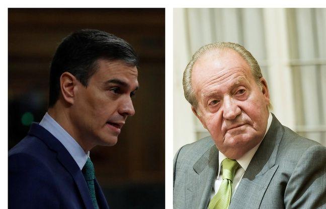648x415 pedro sanchez chef gouvernement espagnol juan carlos ancien roi espagne