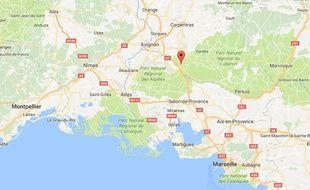 La commune de Cavaillon, dans le Vaucluse.