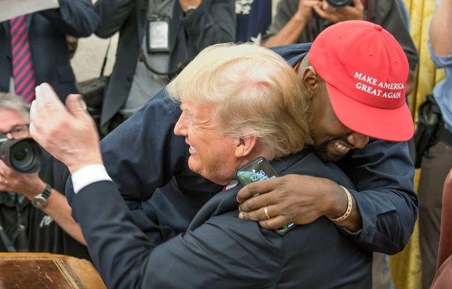 VIDEO. Kanye West réitère son soutien à Donald Trump pendant son office