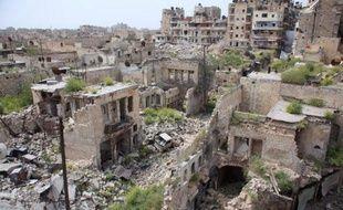 La ville syriene d'Alep, le 9 avril 2015