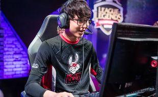 Steven Liv alias Hans Sama, joueur français pro de «League of Legends»