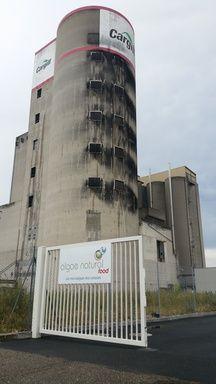 Les premières installations industrielles d'Algae natural food sont implantées sur le site de Cargill, au port autonome de Strasbourg.