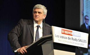 Hervé Morin, candidat à la présidentielle pour le Nouveau Centre.