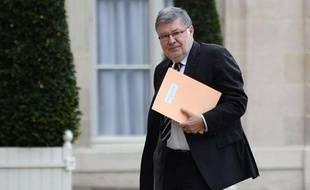Le ministre des relations avec le Parlement Alain Vidalies, le 6 mai 2013 à l'Elyséee.