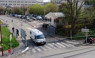 La maison d'arrêt de Fresnes (Val-de-Marne), le 28 mars 2012.