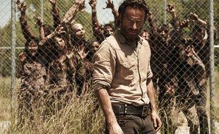 Image de la saison 4 de la série The Walking Dead