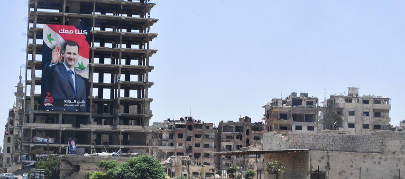 La guerre en Syrie a causé la morte de près d'un demi millions de personnes.