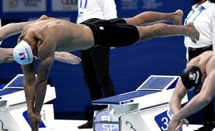 Florent Manaudou et les Bleus n'ont pas pu monter sur le podium du 4x100m à Tokyo.
