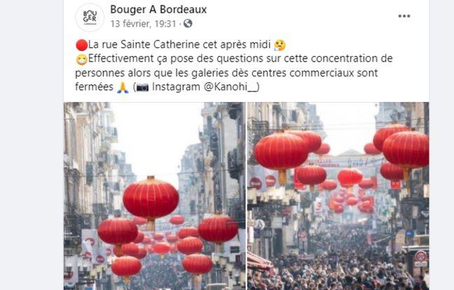 Les réactions sont nombreuses après cette photo de la rue Sainte-Catherine noire de monde