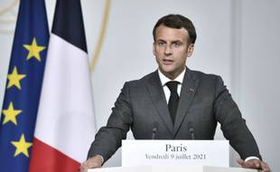 Emmanuel Macron fera une allocution lundi 12 juillet.