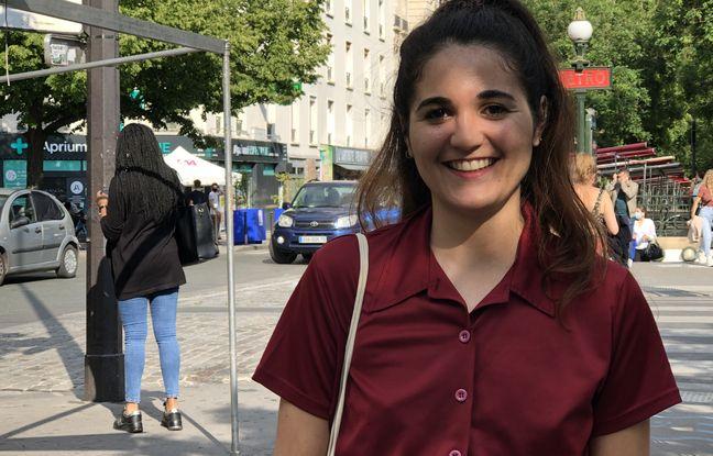 Inès Belhous a travaillé pendant son service civique à son projet, Menstru'Elles.