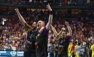 Nantes s'est qualifié pour la finale de la Ligue des champions de handball, le 26 mai 2018 à Cologne.