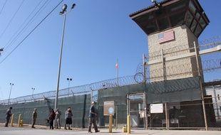 La prison de Guantanamo dans l'enclave américaine de Cuba.