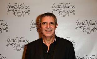 Julien Clerc, le 12 octobre 2017 à Paris.