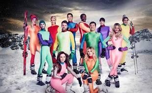 L'émission de téléréalité britannique «The Jump» fait sauter des célébrités d'un tremplin de ski.