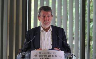 Alain Anziani, président de Bordeaux Métropole