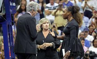 Serena Williams lors de la finale de l'US Open, le 8 septembre 2018.