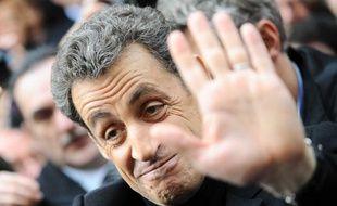 Nicolas Sarkozy le 18 février 2012 à Paris.