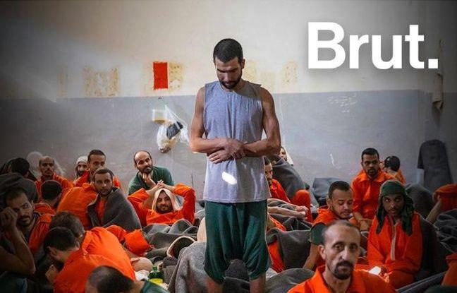 Détenus d'une prison syrienne