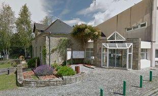 La mairie de Monterblanc, dans le Morbihan.