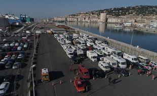 Les nombreux camping-cars rapatriés depuis le Maroc
