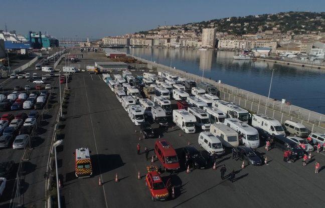 Coronavirus à Sète: Près de 600 nouveaux touristes rapatriés du Maroc en bateau