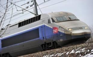 Un TGV.