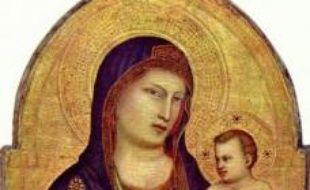 La Vierge et l'enfant de Giotto di Bondone.